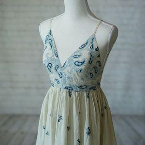 Paisley Floral Maxi Dress